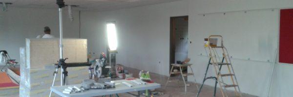 faux plafond et panneau mur acoustique - Plafond Platrerie