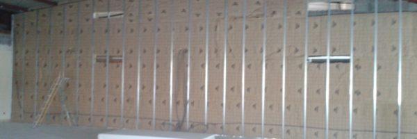 ossature murs doublage