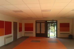 faux plafond fini - Plafond Platrerie
